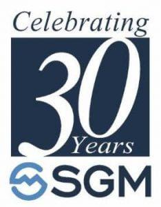 30th Anniversary SGM Logo